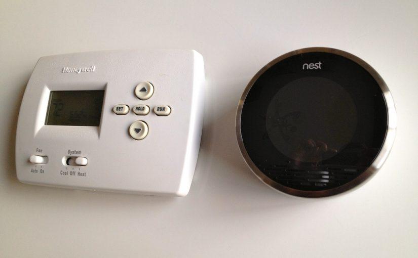 Smart termostat med intelligent varmestyring